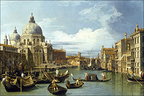 - 24x36 Poster; Entrance To The Grand Canal, Venice Italy By Canaletto 1730