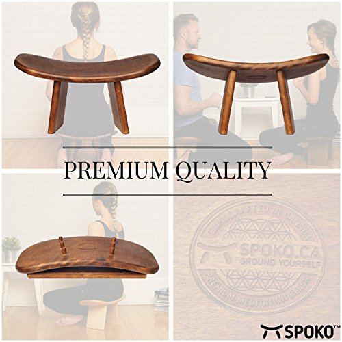 SPOKO Meditation Bench, The Original Kneeling Stool
