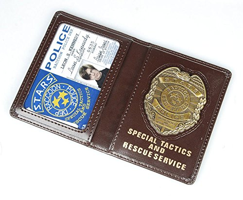 Resident Evil Biohazard S.T.A.R.S RPD Wallet ID Holder