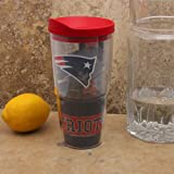 NFL Tervis Tumbler New England Patriots 24oz. Wrap Tumbler Pro with Travel Lid
