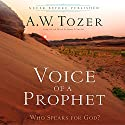 Voice of a Prophet: Who Speaks for God? Audiobook by A.W. Tozer, James L. Snyder Narrated by James L. Snyder