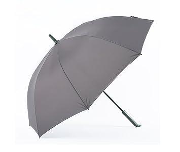 ZHDC® Paraguas, Mango largo Doble comercio Protección contra el sol Protección contra la lluvia