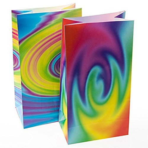 Fun Express Tie-Dye Treat Bags (36 Pack)