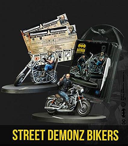 Knight Models Juego de Mesa - Miniaturas Resina DC Comics Superheroe - Batman Street Demonz Bikers: Amazon.es: Juguetes y juegos