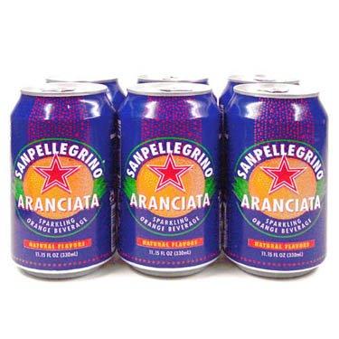 (San Pellegrino Aranciata, 6 Pack - 11.15 Ounce Cans)