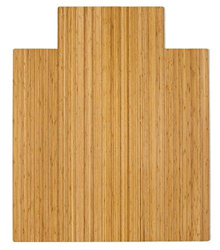 (Anji Mountain AMB24005-A Lip Standard Chair Mat, 44 x 52, Natural)