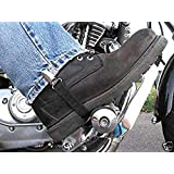 Beisite Bike Motorcycle Jeans Pant Leg Clamps Straps Clips Holder Ryder Stirrups Fully Adjustable Harley Davidson Pants Clip Holders Motorcycle Shoes Boots Pants Clip 2 pcs