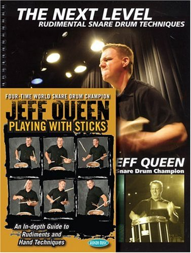 (Jeff Queen - Playing with Sticks/The Next Level: Snare Drum Book/DVD Combo Pack )