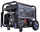 10000 Watt Gas Generator - Pulsar G10KBN Space Gray 10,000 Watt Portable Dual-Fuel Generator with Electric Start, CARB Approved
