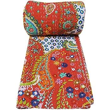 Amazon Com Sophia Art Indian Handmade Paisley Print King