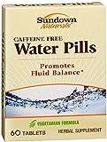 Sundown Naturals Natural Water Pills 60 Tablets (Pack of 5)