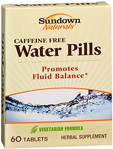 Sundown Naturals Natural Water Pills 60 Tablets (Pack of 5)
