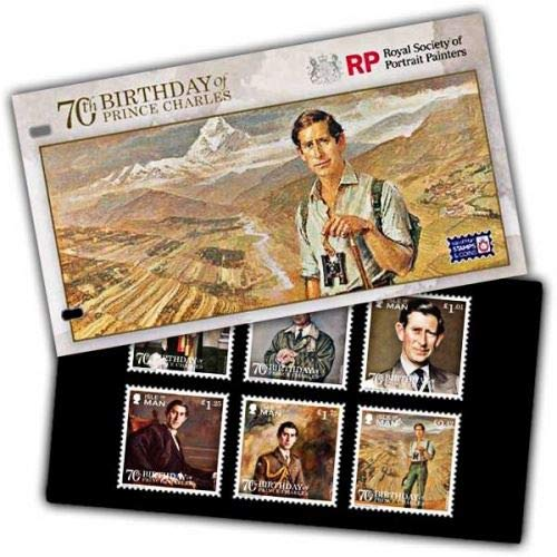 Isle of Man 2018 Stamps 70th Birthday of Prince Charles Presentation Pack