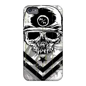 Apple Iphone 6 Plus TEg9471mqjC Support Personal Customs HD Metal Mulisha Image Perfect Hard Cell-phone Case -JohnPrimeauMaurice