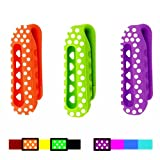 By wearing these excellent clips, we assure you that you will get a lot of compliments as these colorful clips are really pretty. Choose the beautiful set for your choice and change them for your Fitbit One every day to fit your clothes or reflect yo...