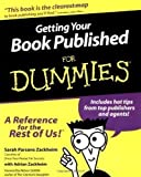 img - for Getting Your Book Published for Dummies by Zackheim, Sarah Parsons, Zackheim, Adrian published by John Wiley & Sons (2000) book / textbook / text book