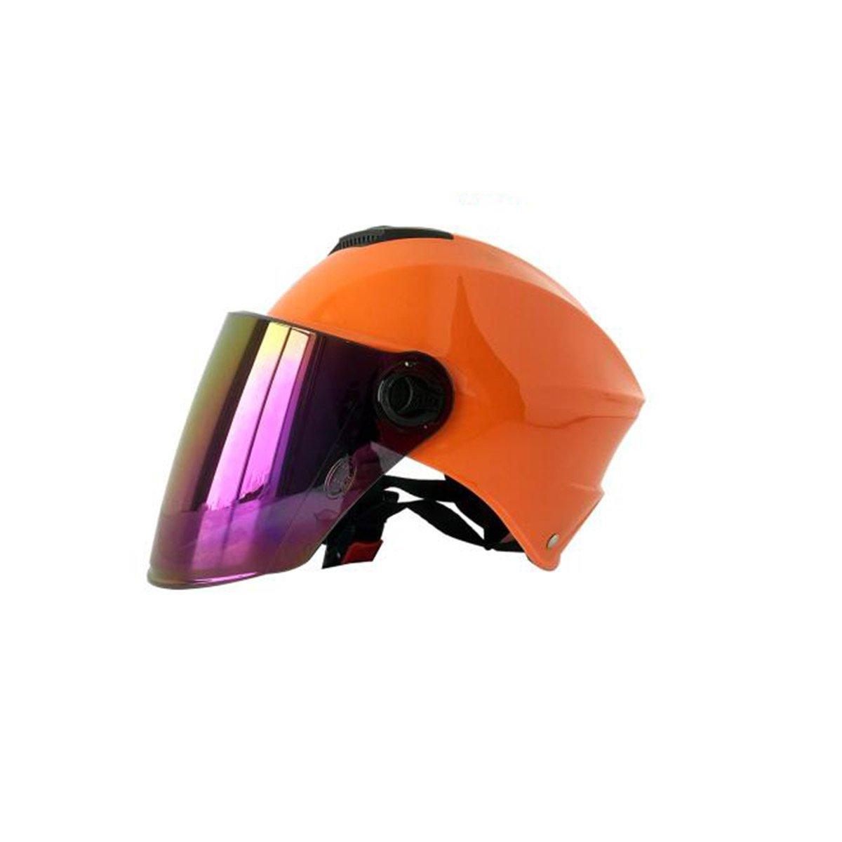 TZQ Sommer Sonne Elektrische Auto Dame Half Helm Dame Reiter Ritter Frühling Herbst Helm Helm