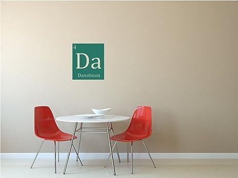 Danubium (Da) | Custom Periodic Table Of Elements Vinyl Wall Decals By  Eyval Decal