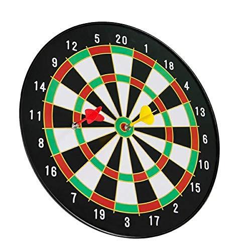 ZZKJNIU Dartboard Set - Household Diameter 40cm Hardboard Magnetic Darts, Children's Darts Magnet Safety Magnetic Darts, Family Recreation,A