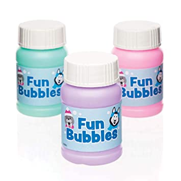 Celebration & Occasion Supplies PACK OF 4 WOODLAND BUBBLES STOCKING PARTY FILLER BAG Party Supplies