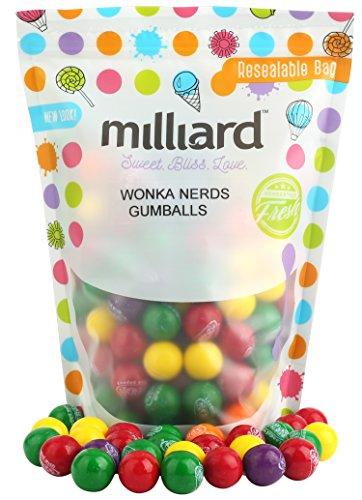 Wonka Nerds Filled Gumballs 3 LB Bulk Candy