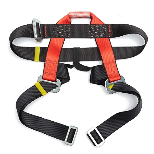 ThyWay Outdoor Mountain Rock Climbing Rappelling Harness Bust Belt Rescue Safety Seat Sitting Strap by ThyWay