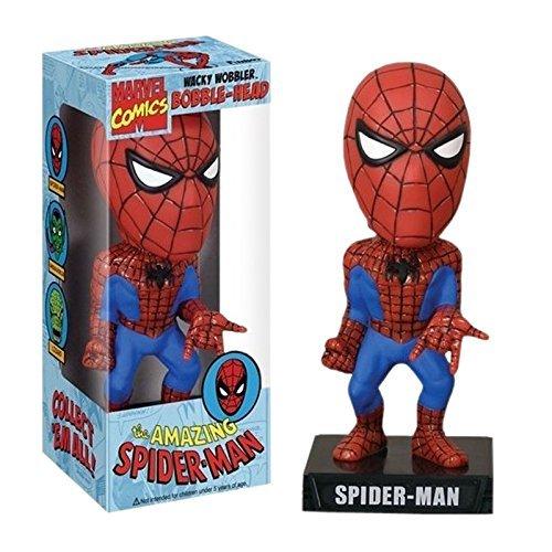 AMAZING SPIDER-MAN / Spider-Man Wacky Wobbler (Bobbing Head) ™ FUNKO figure ™ (Spider Man Wacky Wobbler)