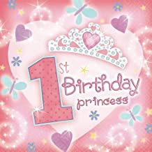 1st Bday Princess Lunch Napkin by Amscan