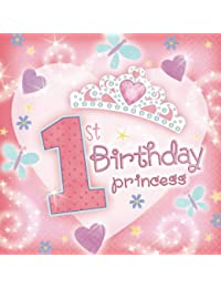 Access 1st Bday Princess Lunch Napkin occupation