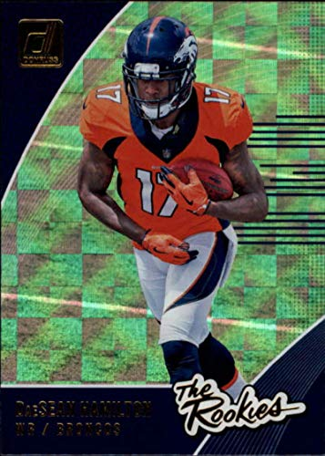 2018 Donruss The Rookies Football Card #38 DaeSean Hamilton NM-MT Denver Broncos Official NFL Trading Card (Hamilton Rookie Card)