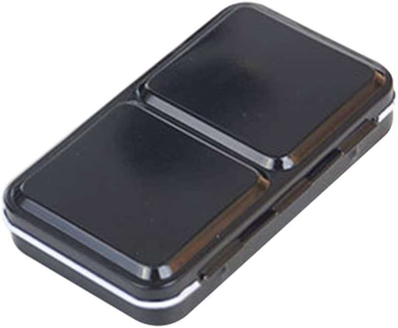 SUPVOX caja de acuarela caja de metal vacía almacenamiento portátil pintura fundida (caja de hierro para 12 colores)