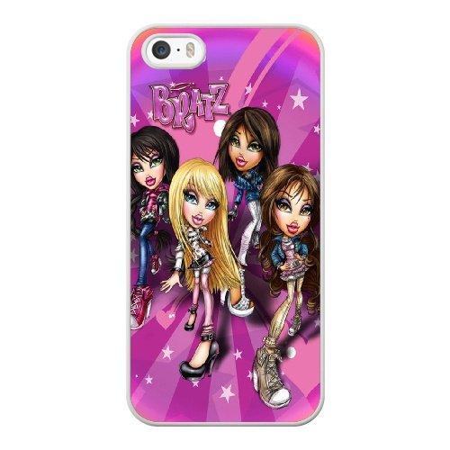 Coque,Coque iphone 5 5S SE Case Coque, Bratz Images Bratz Desert Jewelz 2 Cover For Coque iphone 5 5S SE Cell Phone Case Cover blanc
