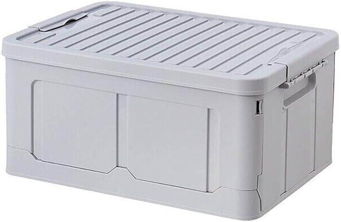 CL- Chun Li Caja de Almacenamiento, de Alto Sellado Ropa Caja de Almacenamiento de Juguete Caja de Almacenamiento de plástico Plegable, 2 Colores Compartimientos de almacenaje (Color : B): Amazon.es: Hogar