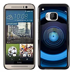 LECELL -- Funda protectora / Cubierta / Piel For HTC One M9 -- Lens Reflection --