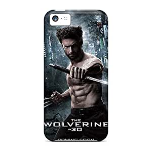 Shock-Absorbing Hard Cell-phone Cases For Apple Iphone 5c With Support Your Personal Customized Stylish Strange Magic Skin LisaSwinburnson