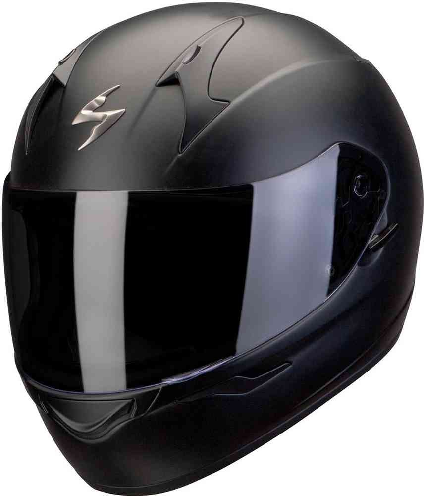 Tama/ño M Scorpion Moto Casco Exo 390/Mat Negro