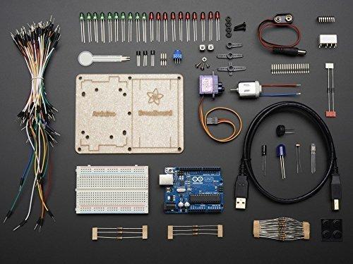 - Adafruit (PID 170) ARDX - v1.3 Experimentation Kit for Arduino (Uno R3) - v1.3