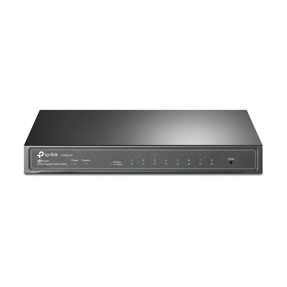 TP-Link JetStream 8-Port Gigabit Smart Switch - T1500G-8T