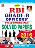 Kiran's RBI Grade – B Officers Phase – I Online Exam Solved Papers - 1904