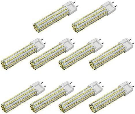6500k Avec Céramique 10x 85 Smd Froid Revêtement Lampe Led Mengs® À 144x2835 L'aluminium G12 15w Et 265v Ac Blanc jq35ALc4R