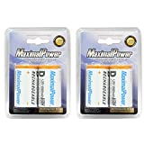 Best MaximalPower Rechargeable Batteries - MaximalPower D2-10000 x 2 Maximalpower D NiMH Ni-Mh Review