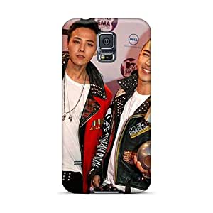 Samsung Galaxy S5 Jtu17813gTWS Support Personal Customs Colorful Red Hot Chili Peppers Series Shock Absorption Hard Cell-phone Cases -TimeaJoyce