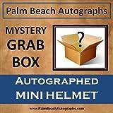 MYSTERY GRAB BOX - Autographed NFL/NCAA Mini Helmet