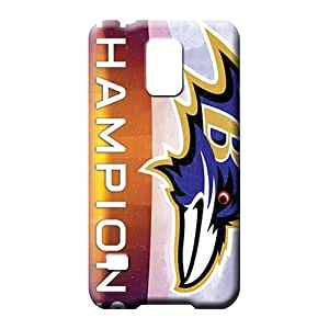 samsung galaxy s5 cell phone carrying skins Scratch-proof covers Cases Covers Protector For phone baltimore ravens nfl football