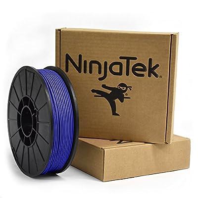 NinjaTek 3DCH02129010 NinjaTek Cheetah TPU Filament, 3.00mm, Tpe, 1kg, Sapphire (Blue) (Pack of 1)
