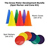 Gross Motor Development Bundle (Spot Marker and Cone Kit)