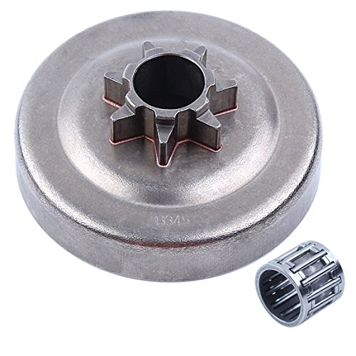Haishine Spur Clutch Drum Needle Cage for Husqvarna 340 345 350 351 353 EPA 445 450 445E 450E Jonsered 2145 2150 McCulloch PM5000 .325