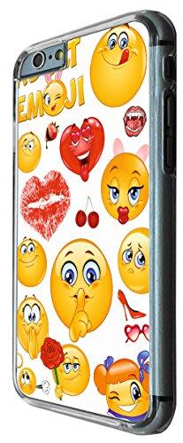 901 - Adult Cool Smiley Faces emoji Funky Design iphone 6 6S 4.7'' Coque Fashion Trend Case Coque Protection Cover plastique et métal
