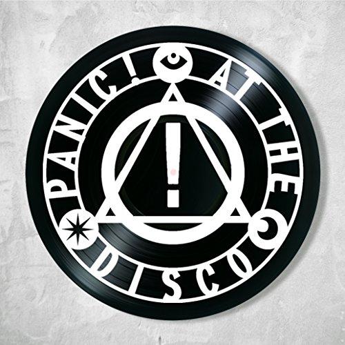 SofiClock Panic At the Disco Decor Vinyl - Unique Wall Art Decor Panic At the Disco - Best Gift for Music Lover - Original Wall Home Decor (Panic At The Disco Sound Of Music)