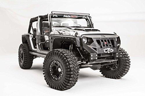 Fab Fours GR10001 Bumper - Fab Fours Jeep